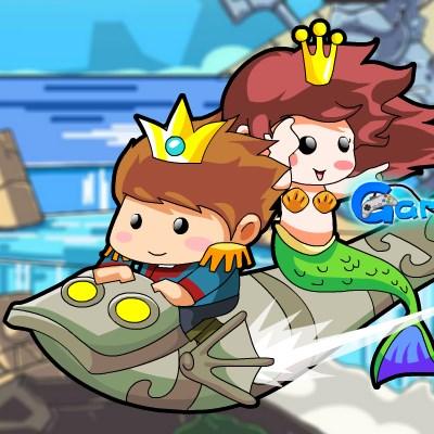 Гра Принц і принцеса: 2 стихії