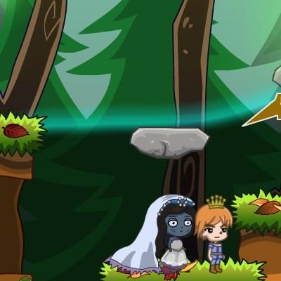 Гра Принц і наречена: Спаси принцесу від темряви