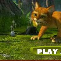 Гра Кіт у чоботях кидається вовною