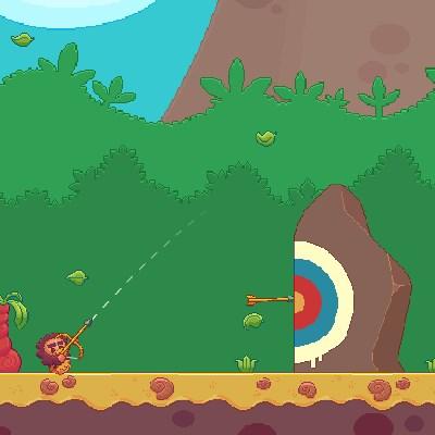 Гра стрілялка на двох: Стародавні лучники