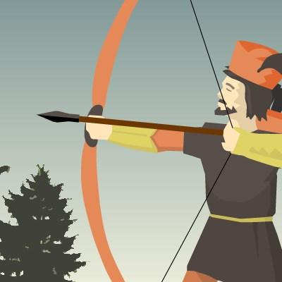 Гра стрілялка: Час лучників 2