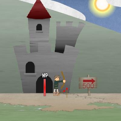 Гра стрілялка: Королівський лучник