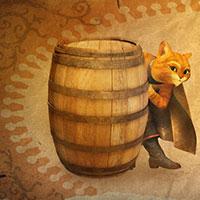 Гра Кіт у чоботях краде чарівні боби