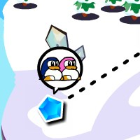 Гра бродилка пригода пінгвіна