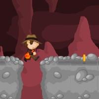 Гра бродилка: Біг по печерах
