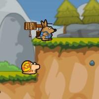 Гра бродилка на двох: Равлик і Кенгуру