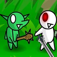 Гра на двох бійки: Мечники спина до спини