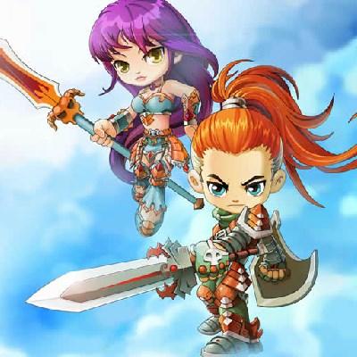 Гра Бійки на двох: Дівчатка воїни