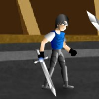Гра бійки битви на двох в Колізеї