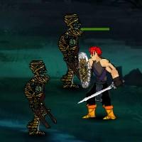 Гра Бійки на двох: Воїни і Зомбі