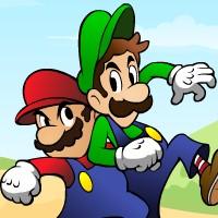 Гра Маріо пригоди братів на двох