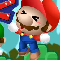 Гра Маріо на двох: Стрибки вгору
