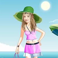 Гра Hannah Montana і пляжний відпочинок