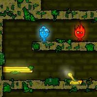 Гра Вогонь і Вода 1: в Лісовому Храмі