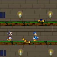 Гра Вогонь і Вода на двох: Міккі і Дональда