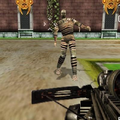 Гра шутер: Полювання на мумій 3Д