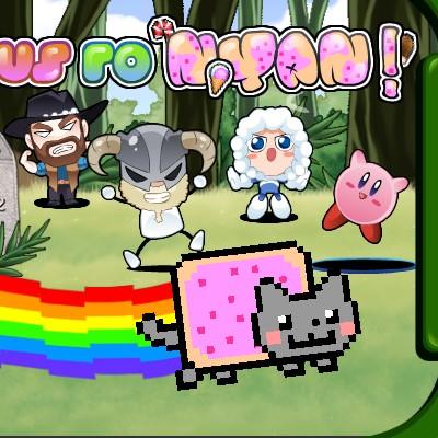Гра Кішка Нян: Запуск на дальність
