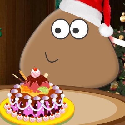 Гра Поу: Новорічний Торт