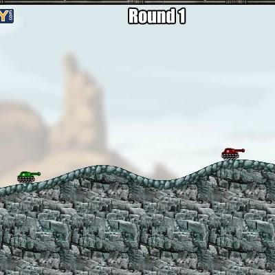 Гра в стилі черв'ячків: Бойові танки