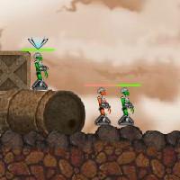 Гра Черв'ячки: Битва роботів Бионоидов
