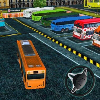 Гра Автобус 3Д: Парковка