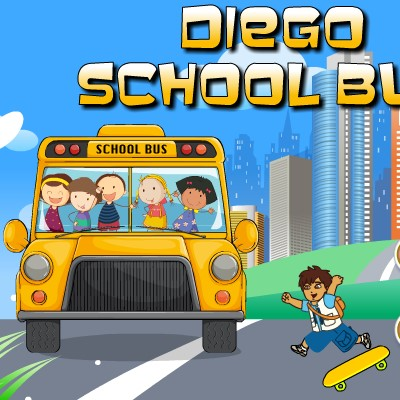 Гра Автобус Догонялка: Допоможи Дієго