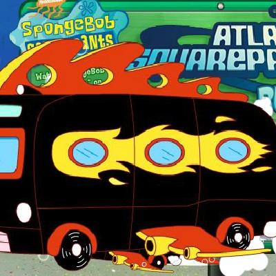 Гра Автобус: Катання Губки Боба