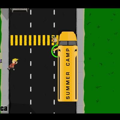 Гра Шкільний автобус: Божевільна їзда