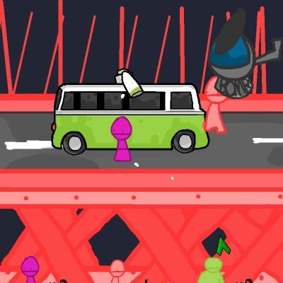 Гра Автобус з ракетами
