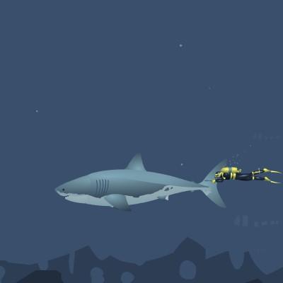 Гра Божевільна Акула вбивця