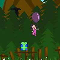 Гра Маша і ведмідь на повітряній кулі: грай безкоштовно онлайн!