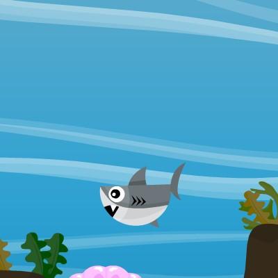 Гра Акула: Споймай рибку