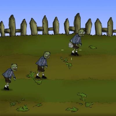 Гра Атака: Захист будинку від зомбі