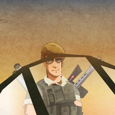 Гра військова атака: Хоробрий солдат