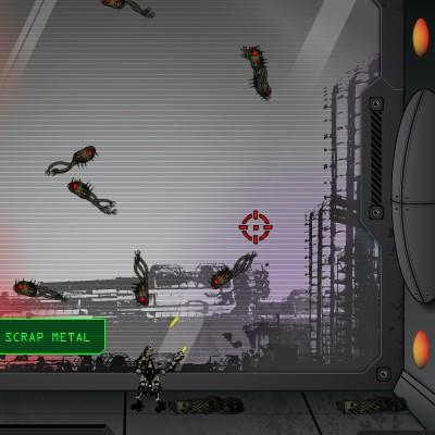 Гра Атака матриці: Оборона міста
