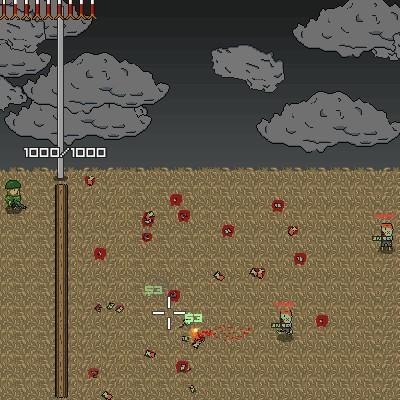 Гра Атака Монстрів: вірус Зомбі