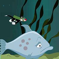 Гра Дісней: Сільвестр і Твіті під водою