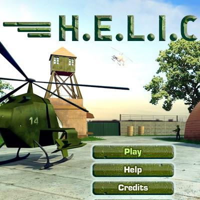 Гра Військовий Вертоліт: Захисти свою базу