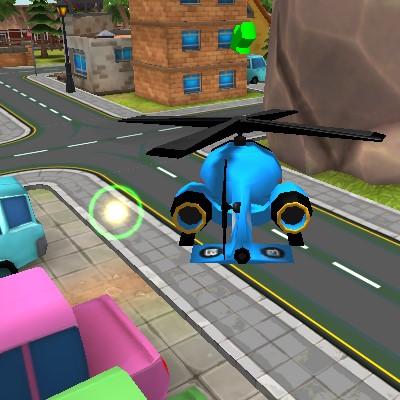 Гра радіокерований вертоліт в 3д