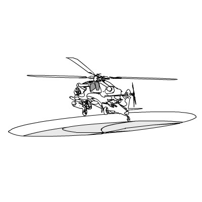 Вертоліт гра Стрілялка: Знищ ворога