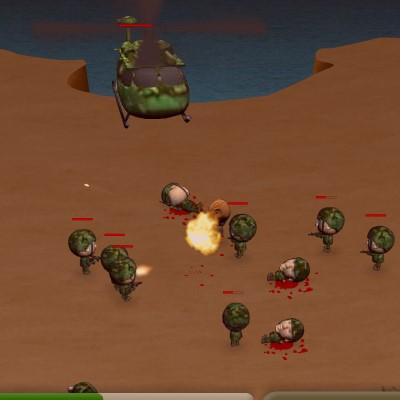 Гра Знищення вертольотів
