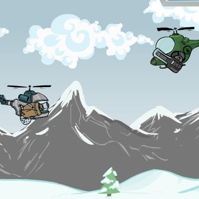Гра Супер Вертоліт: Стрілялка в повітрі