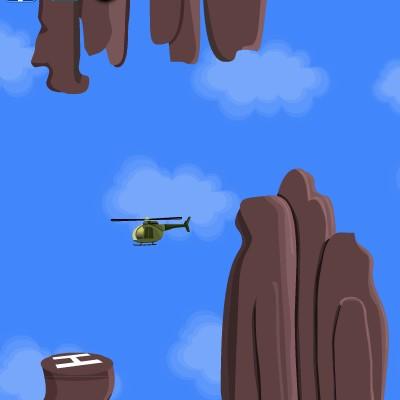 Гра симулятор посадки вертольота