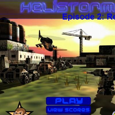 Вертоліт гра Стрілялка: Штурм ворогів