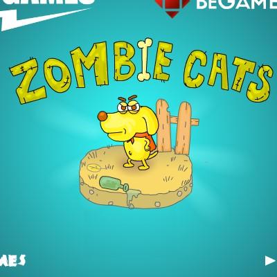 Гра Знайти вихід з Міста Котів Зомбі