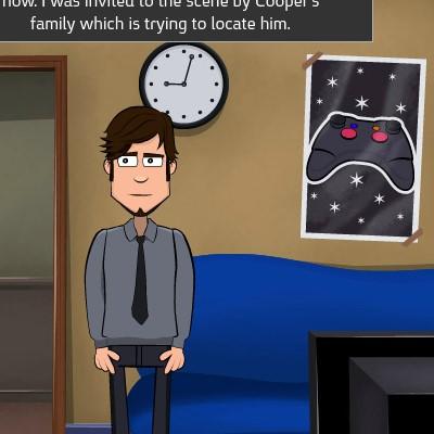 Гра Знайти зниклих людей: Детектив Паул