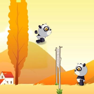 Гра Волейбол Головами: Панди і Яйця