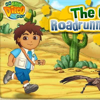 Гра для дітей: Дієго і Дорожній бегунчик