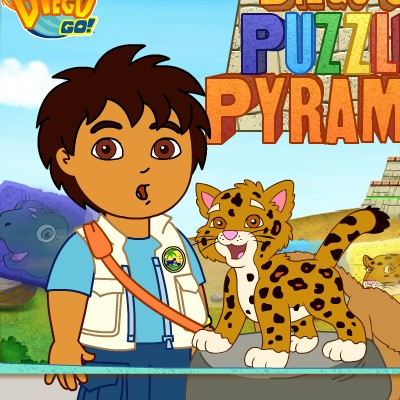 Гра для дітей: Дієго в піраміді