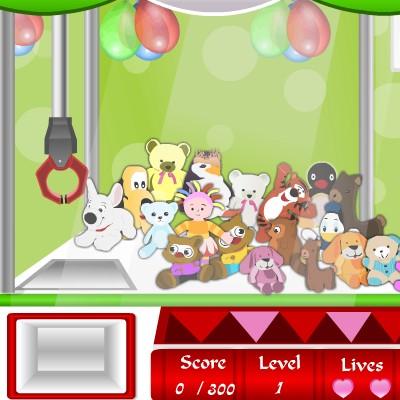 Гра для дітей: Витягни іграшку з Автомата іграшок